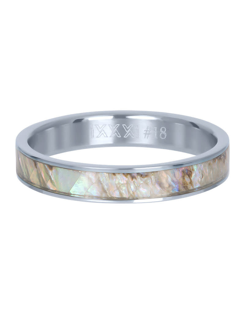 iXXXi iXXXi R03709-03 19 Ring Grey Shell cover zilver Maat 19