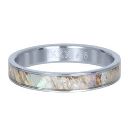 iXXXi iXXXi R03709-03 20 Ring Grey Shell cover zilver Maat 20