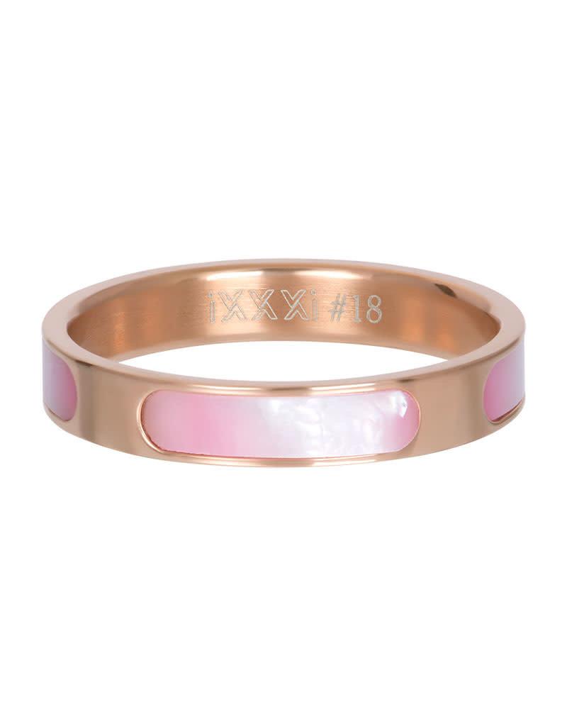 iXXXi iXXXi R05601-02 18 Ring Aruba rosé maat 18