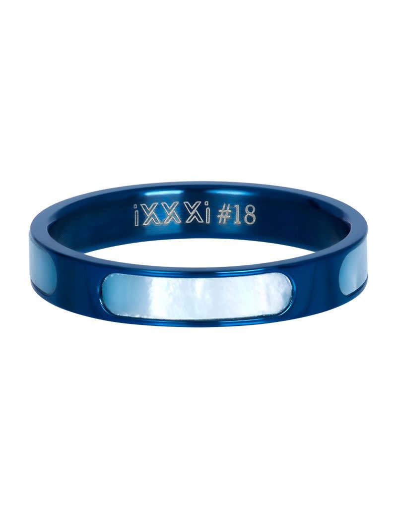 iXXXi iXXXi R05601-08 21 Ring Aruba blue maat 21