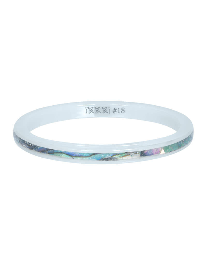 iXXXi iXXXi R03308-06 18 Ring Ceramic amber shell maat 18