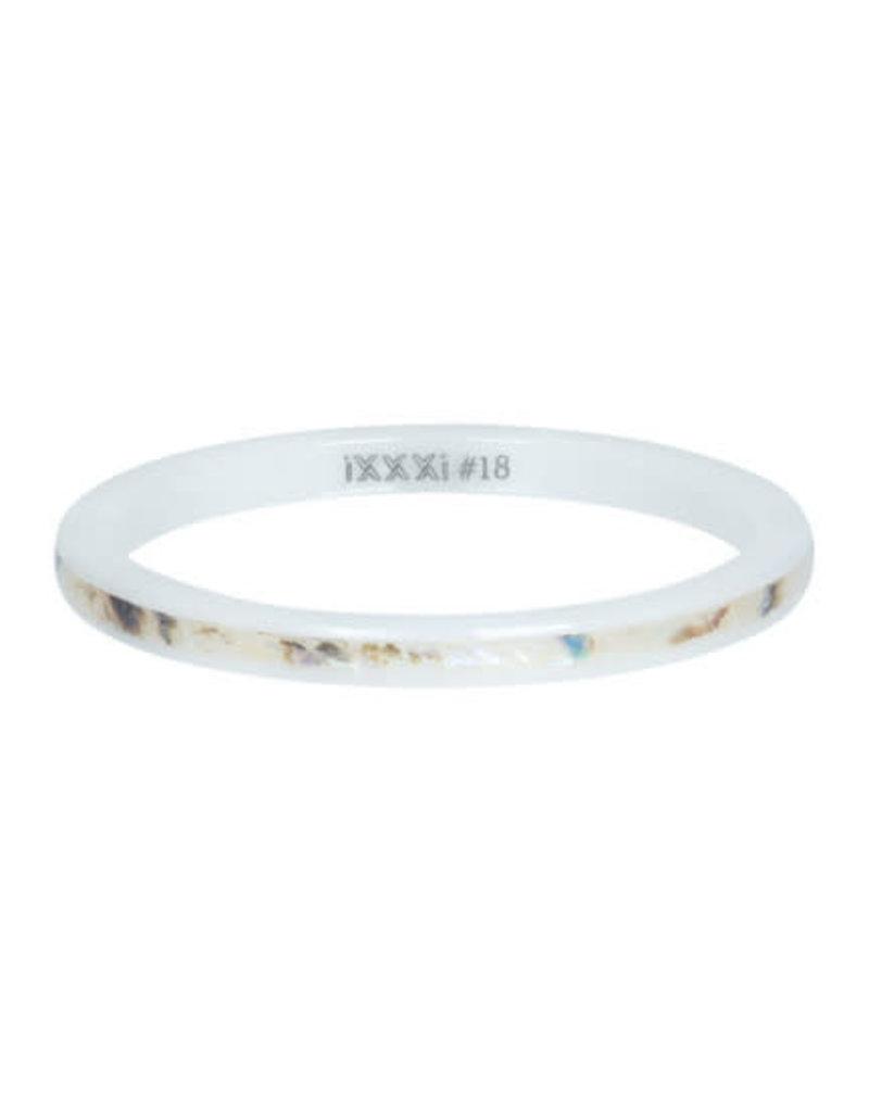 iXXXi iXXXi R03309-06 21 Ring Ceramic sand shell maat 21
