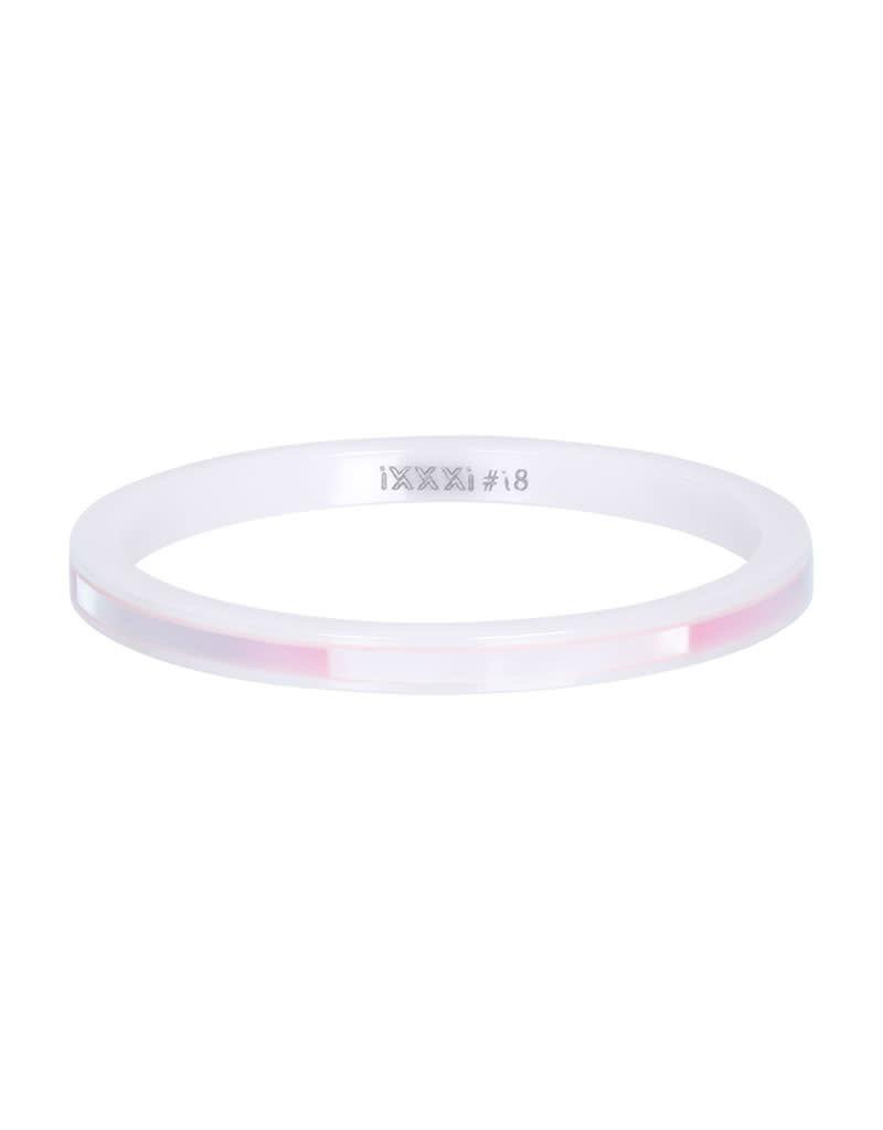 iXXXi iXXXi R03305-06 18 Ring Ceramic pink shell maat 18
