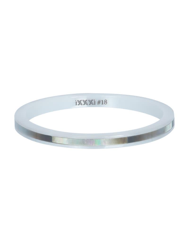 iXXXi iXXXi R03306-06 19 Ring Ceramic grey shell maat 19