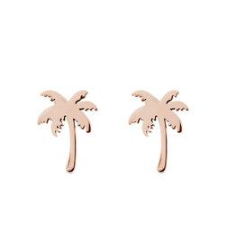 iXXXi iXXXi E0310199002 Oorbellen rosé Palm Tree