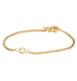 iXXXi iXXXi B0031999001 Armband goud top part base 17+3cm