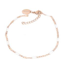 iXXXi iXXXi B0038499002 Armband rosé Curacao white 18+3cm