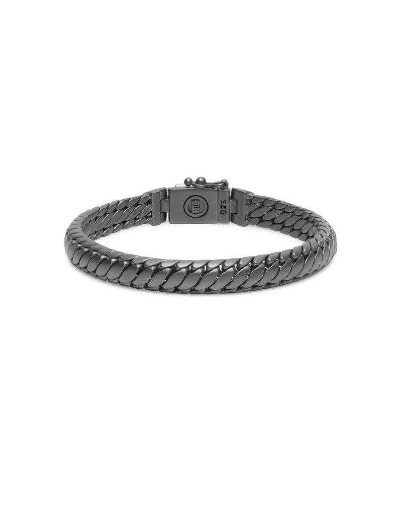 Buddha to Buddha BtoB J070BRS D Armband Ben XS Black Rhodium Silver Maat D