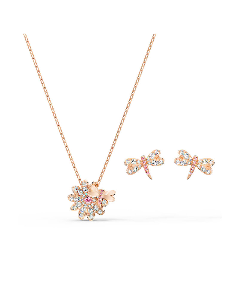 Swarovski Swarovski 5518141 Sieradenset Eternal Flower Fly