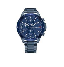 Tommy Hilfiger TH1791720 Horloge Heren Bank Staal Blauw