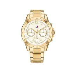 Tommy Hilfiger Tommy Hilfiger TH1782195 Horloge dames Haven staal Gold plated