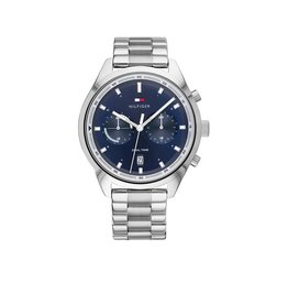 Tommy Hilfiger Tommy Hilfiger TH1791725 Horloge heren Bennett Dual Time Staal