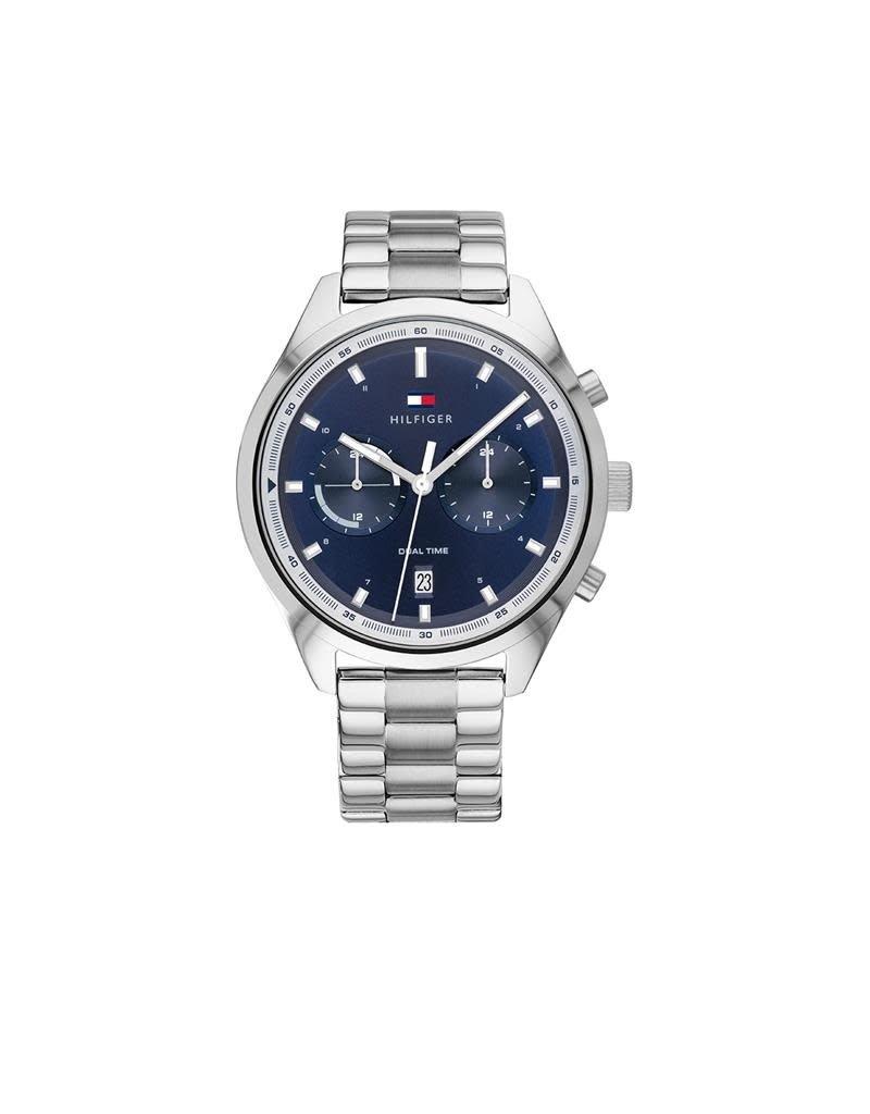 Tommy Hilfiger Tommy Hilfiger TH1791725 Horloge heren Bennett Dual Time Staal
