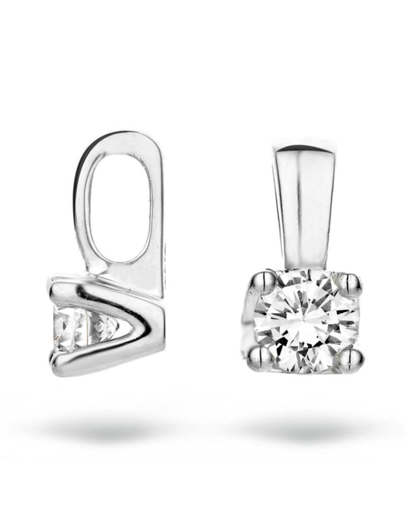 Blush 6601WDI - Diamant Hanger 14 krt witgoud