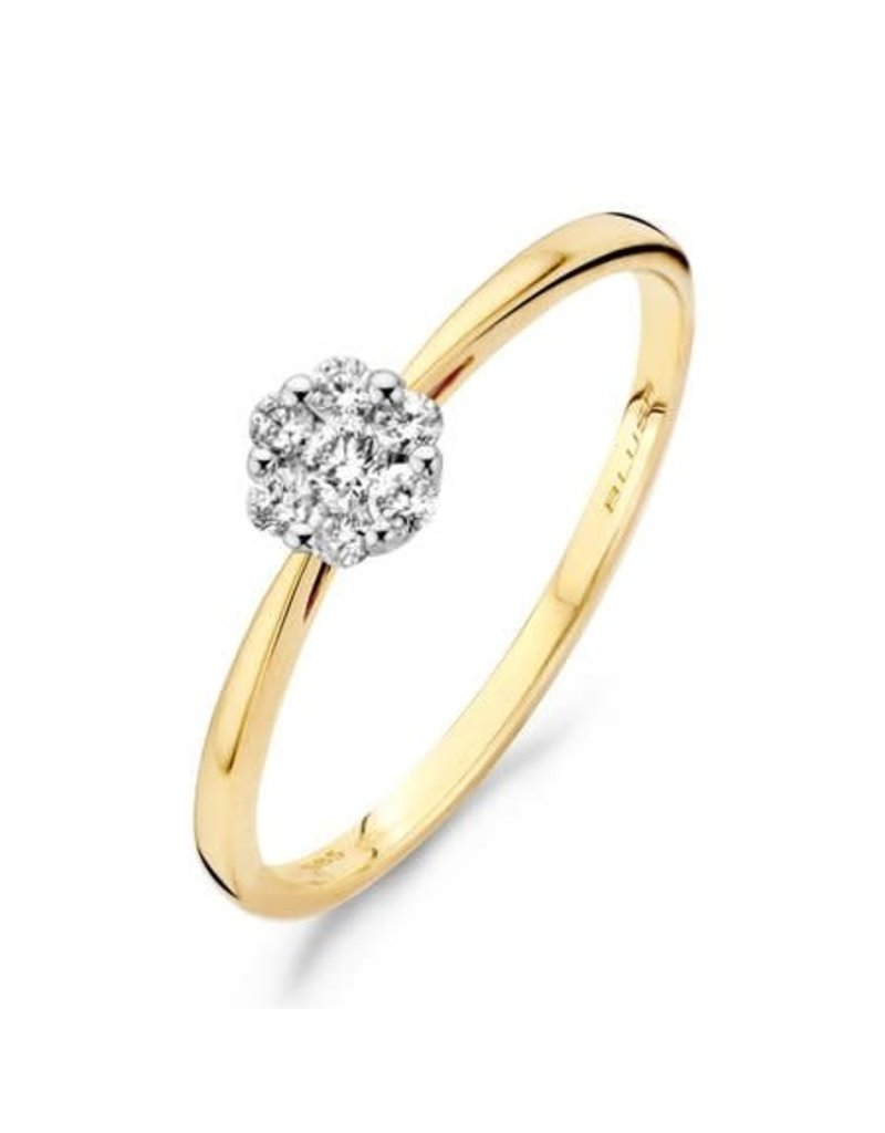 Blush 1611BDI/54 Ring 14 krt goud met diamant maat 54
