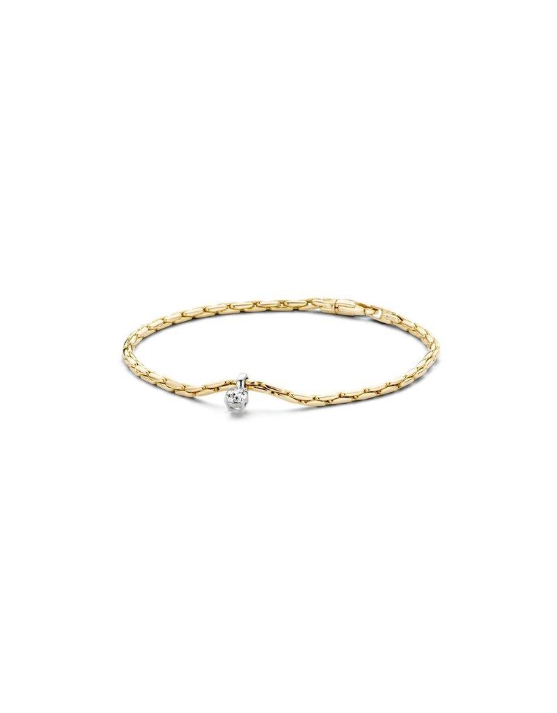 Blush 2156BZI Armband 14 krt geelgoud met zirkonia