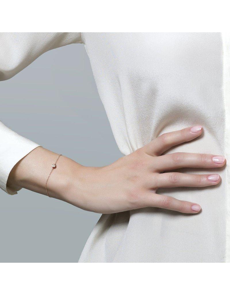 Blush 2167RZI Armband 14 krt roségoud met zirkonia