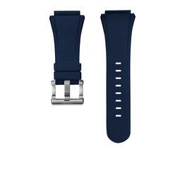 TW Steel TW Steel CEB5006 Horlogeband Blauw Siliconen