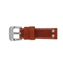 TW Steel TWB23S 22 mm horlogeband bruin leer verkleindeel t.b.v. TW Steel Canteen collectie