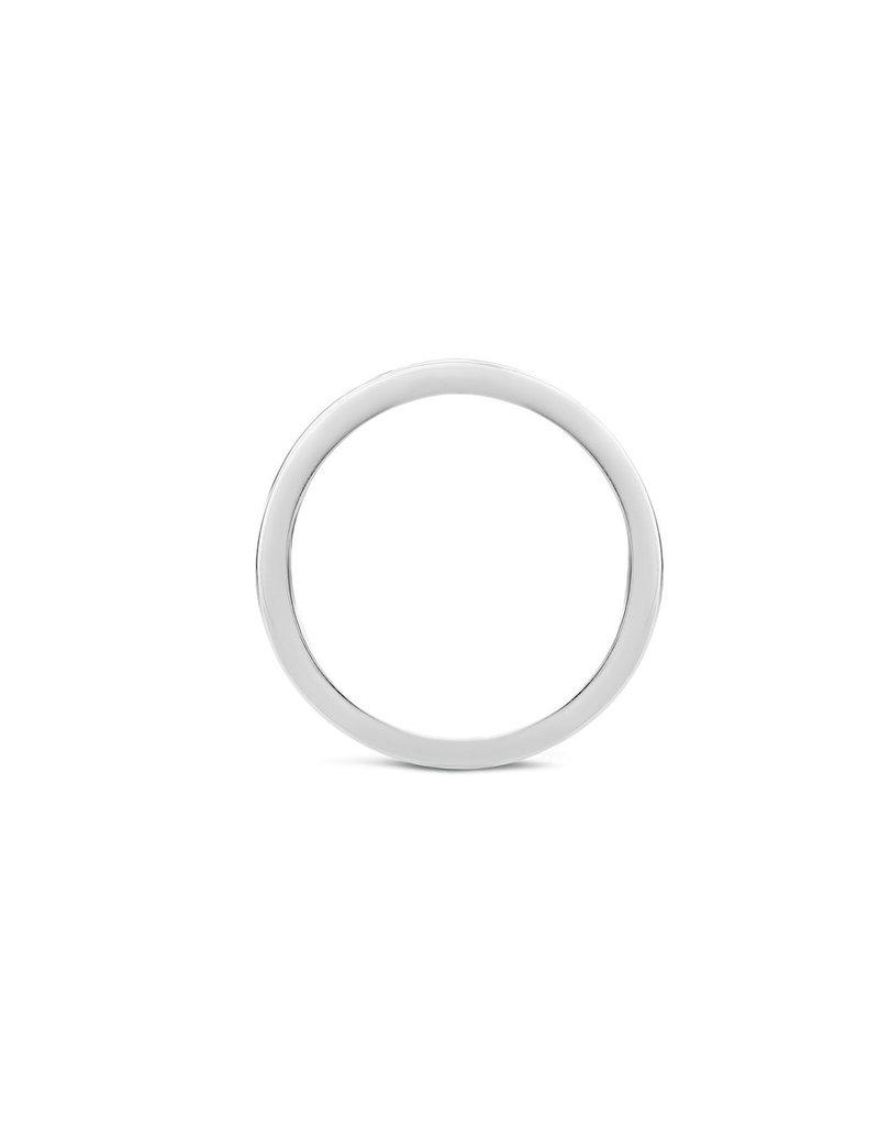 Blush 1630WDI/54 Ring 14 krt witgoud met diamant maat 54