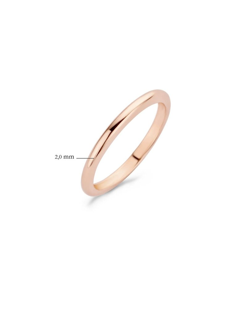 Blush 1117RGO/54 Ring 14 krt roségoud maat 54
