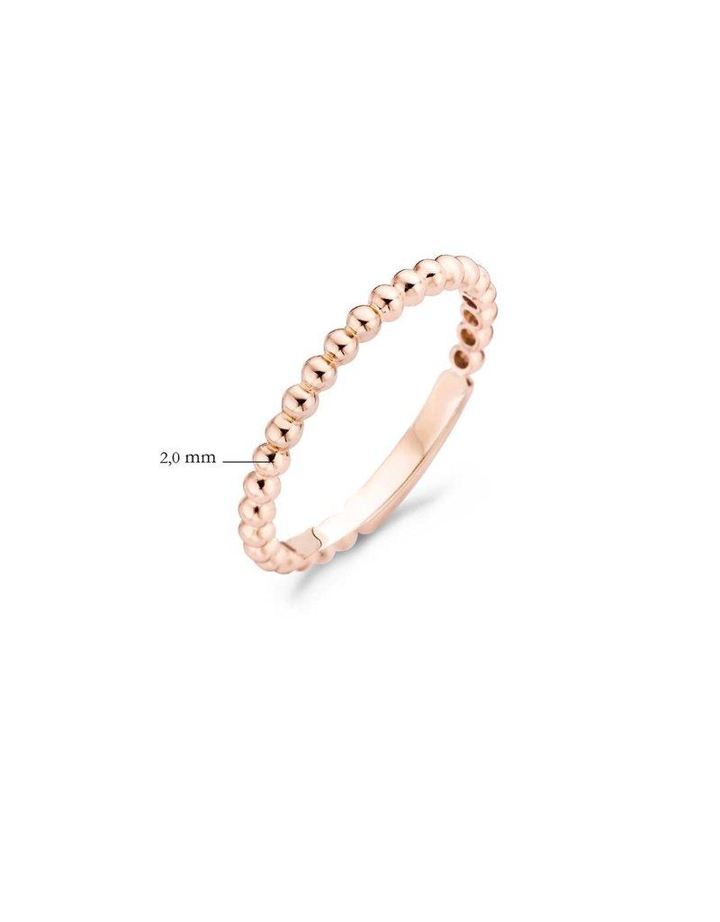 Blush 1105RGO/54 Ring 14 krt roségoud maat 54