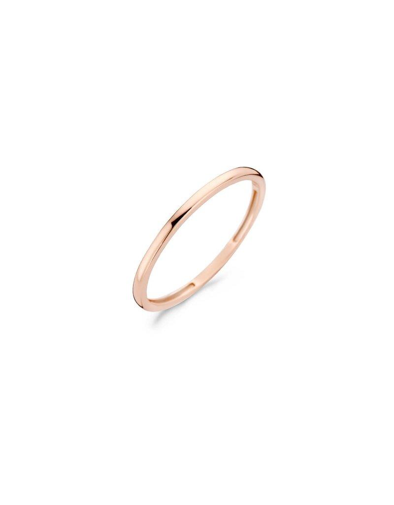 Blush 1197RGO/52 Ring  glad 14 krt roségoud maat 52