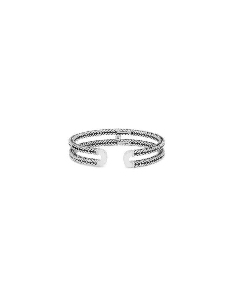 Buddha to Buddha 115 C+ Armband Barbara Link Bangle Silver Maat C+