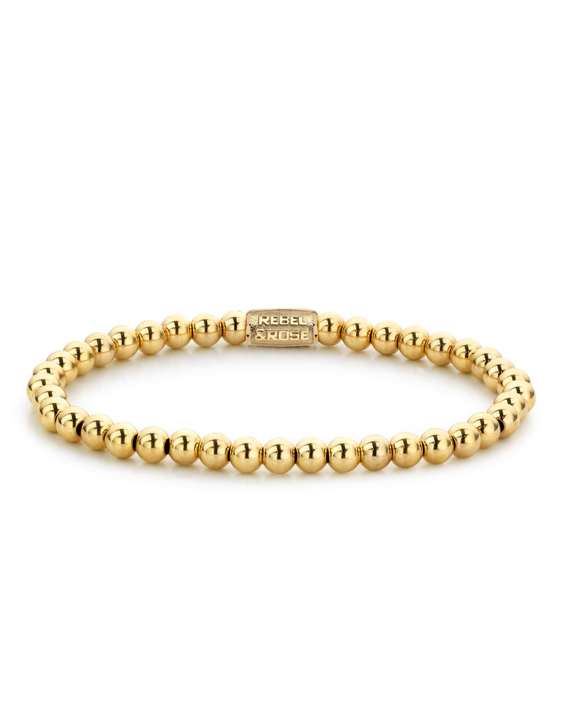 Rebel&Rose RR-40038-G-S Armband Yellow Gold Only - 4MM