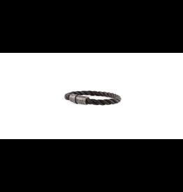 Josh Josh 09228-BRA Armband touw zwart 20CM