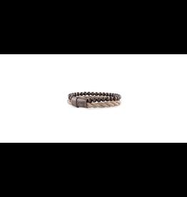 Josh Josh 09242-BRA Armband touw/kraal bruin 20CM
