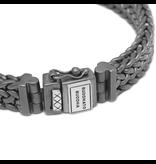 Buddha to Buddha BtoB 192BRS G Armband Julius Black Rhodium Silver Silver Maat G