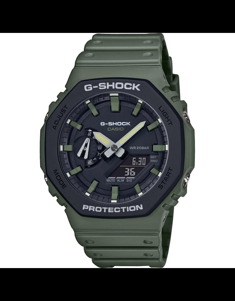 Casio Casio G-Shock GA-2110SU-3AER Horloge ANA/DIGI groen