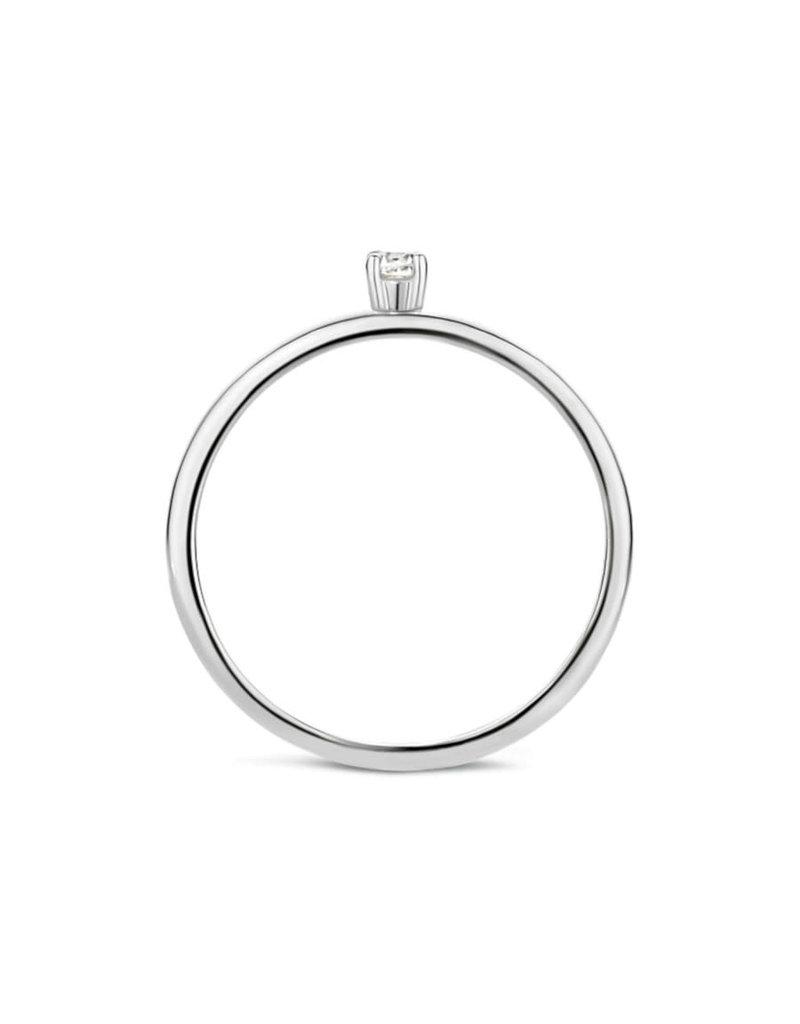 Blush 1200WZI/52 Ring 14Krt Wit Goud met Zirkonia