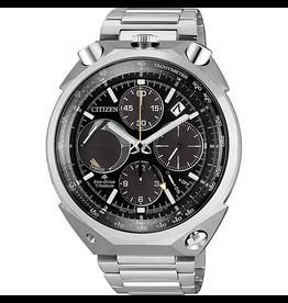 """Citizen AV0080-88E Horloge Chrono Super Titanium """"Bullhead"""""""
