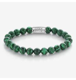 Rebel&Rose RR-80080-S-L Armband Malachite Green 8MM L