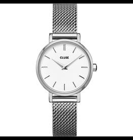 Cluse Cluse CW0101211007 Horloge Boho Chic Petite Mesh White/Silver