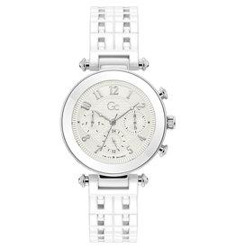GC GC Y65004L1MF Horloge Dames wit keramiek
