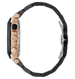 GC GC Y70002G2MF Horloge Heren Chrono Staal black/Rosé