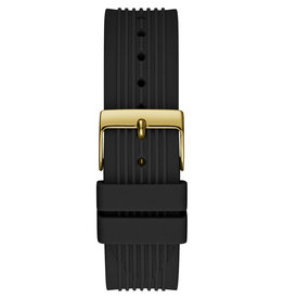 Guess Guess GW0030L2 Horloge Dames Staal goudkleur Siliconen band