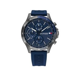Tommy Hilfiger Tommy Hilfiger TH1791721 Horloge Heren Bank Siliconen blauw