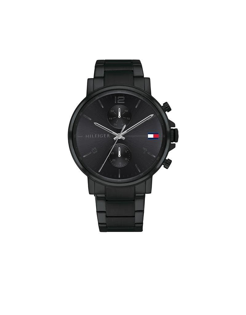 Tommy Hilfiger Tommy Hilfiger TH1710414 Horloge Heren Daniel Staal Black/Black