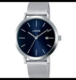 Lorus Lorus RH941JX-9 Horloge heren mesh Staal blauw