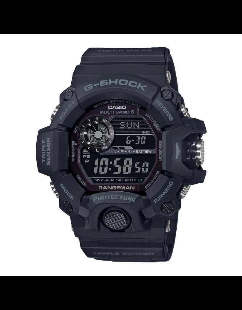 Casio G-Shock GW-9400-1BER  Horloge Rangeman  digi zwart