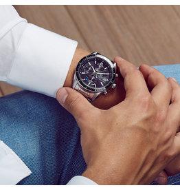 Edifice EFS-s510d-1AVUEF Horloge heren staal zwart Solar