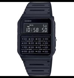 Casio Casio CA-53WF-1BEF horloge Vintage calculator zwart