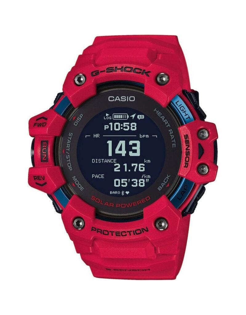 Casio Premium G-Shock GBD-H1000-4er Horloge Heren G-Squad Digi GPS, Solar, Bluetooth