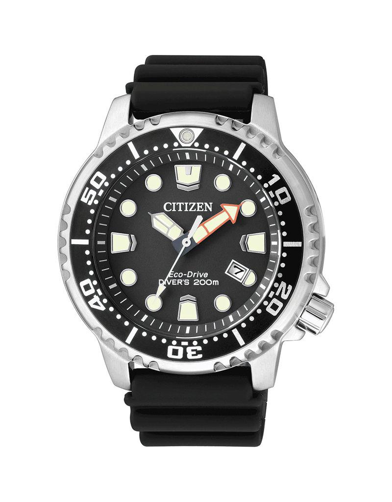 Citizen BN0150-10E Promaster Sea horloge Eco drive zwart