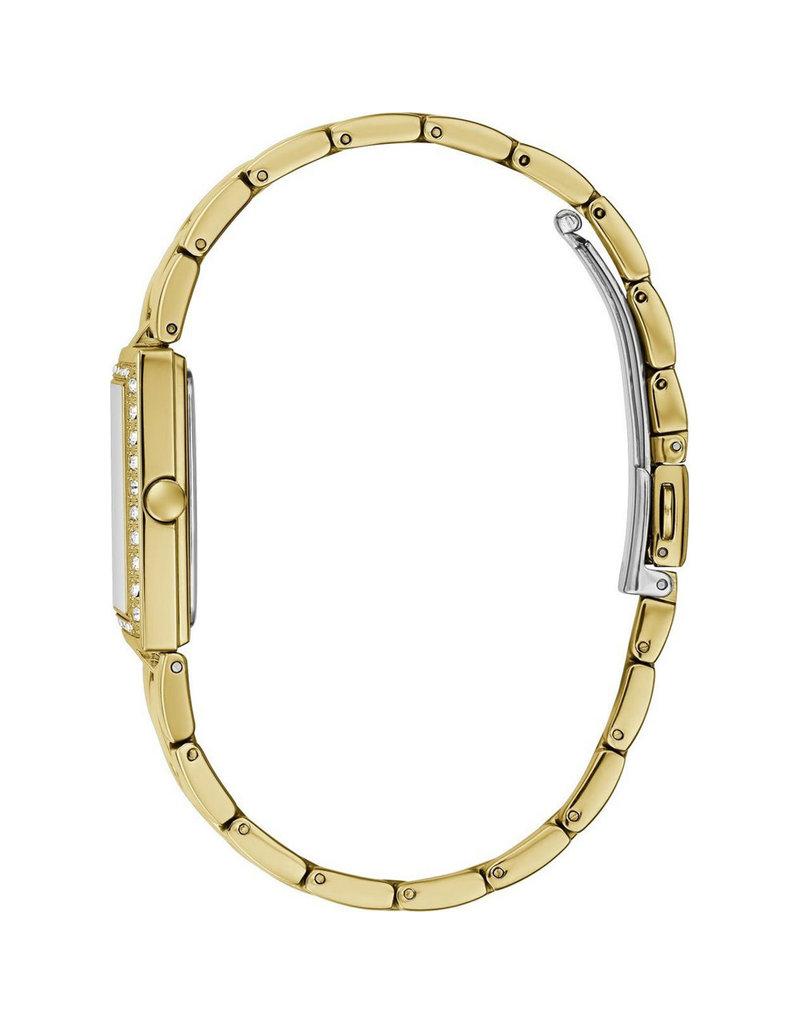 Guess Guess GW0026L2 Horloge dames Staal Goldplated met Zirkonia