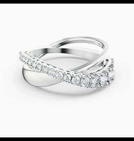 Swarovski Ring Twist Rows - 5563911  - Maat 55